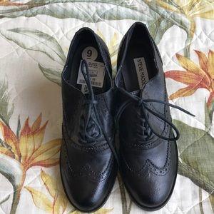 Steve Madden High Heeled Wing Tip Shoe -NWOT